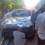 Tin tức trong ngày - Huế: Nữ tài xế lao thẳng ô tô lên lan can cầu Trường Tiền
