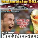 """Bóng đá - Báo chí thế giới ngợi ca """"thánh"""" Gotze và ĐT Đức"""