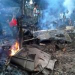 Vụ máy bay rơi: 3 chiến sĩ bị thương vẫn hôn mê
