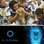 Công nghệ thông tin - Cortana: 'Người hùng' World Cup 2014