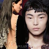 Tóc ấn tượng của thời trang cao cấp Paris