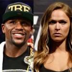 """Thể thao - UFC: Mayweather """"sửng sốt"""" khi nghe tên người đẹp Rousey"""