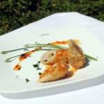 Ẩm thực - Giòn, mềm thịt heo cuộn khoai môn