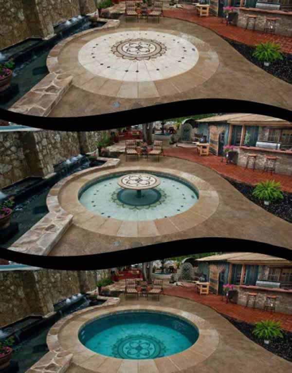 Những bể bơi