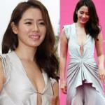 Thời trang - Son Ye Jin tránh lộ hàng bằng kim băng