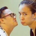 Ca nhạc - MTV - Ái Phương khoe mặt mộc bên Trung Quân nhí nhảnh