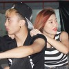 Hoàng Sơn được bạn gái hotgirl chăm sóc trên sàn tập