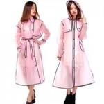 Thời trang - Điệu đà ngày bão với áo mưa thời trang