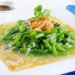 Ẩm thực - Đậm đà súp bó xôi thịt cua