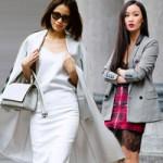 """Thời trang - Cách mặc váy hai dây tới sở mà không bị """"tuýt còi"""""""