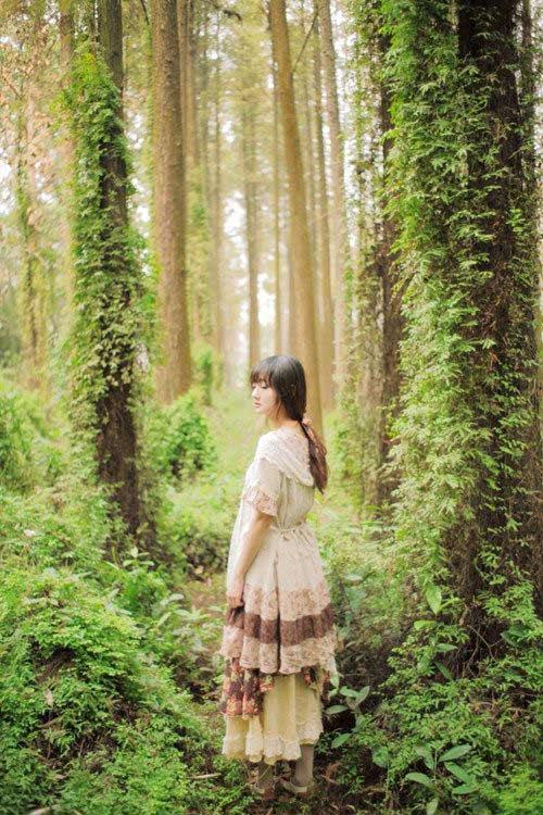 """Giới trẻ Việt mê thời trang """"rừng xanh"""" Nhật Bản - 2"""