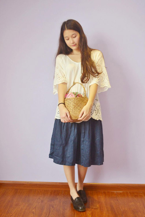 """Giới trẻ Việt mê thời trang """"rừng xanh"""" Nhật Bản - 3"""
