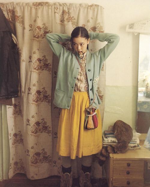 """Giới trẻ Việt mê thời trang """"rừng xanh"""" Nhật Bản - 1"""