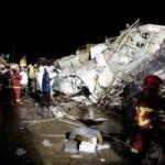 Tin tức trong ngày - Máy bay rơi ở Đài Loan, 47 người thiệt mạng