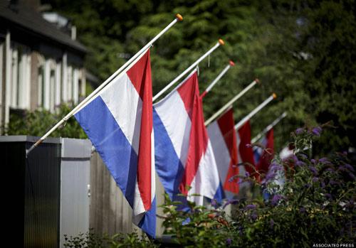 Ảnh: Hà Lan đón nạn nhân MH17 trở về - 9
