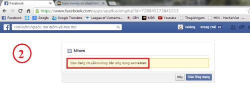 """Ứng dụng """"top 5 người quan tâm"""" đánh cắp tài khoản Facebook - 2"""