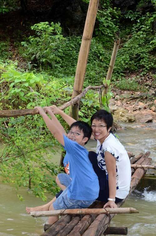 Ấm áp tình mẹ con của MC Thảo Vân - 14