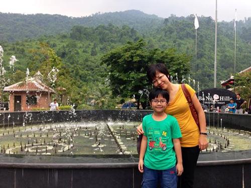 Ấm áp tình mẹ con của MC Thảo Vân - 12