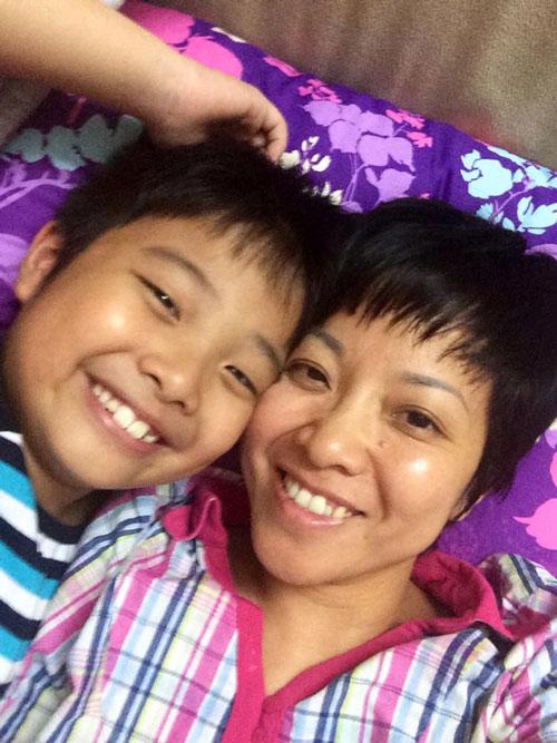 Ấm áp tình mẹ con của MC Thảo Vân - 6