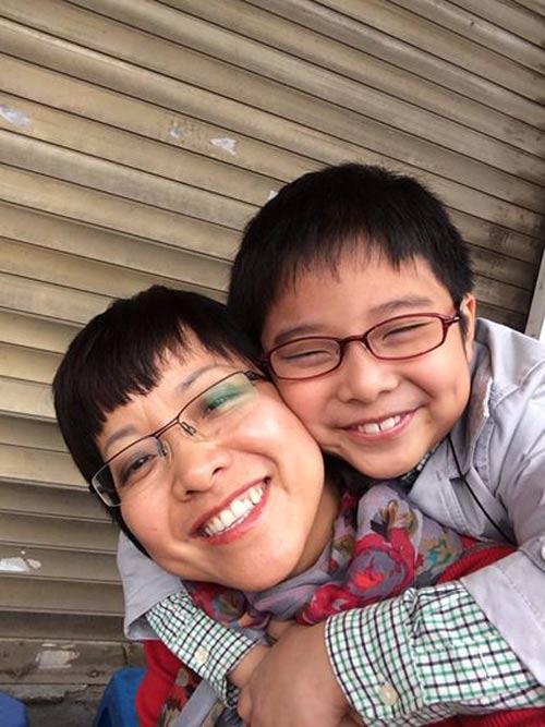 Ấm áp tình mẹ con của MC Thảo Vân - 3
