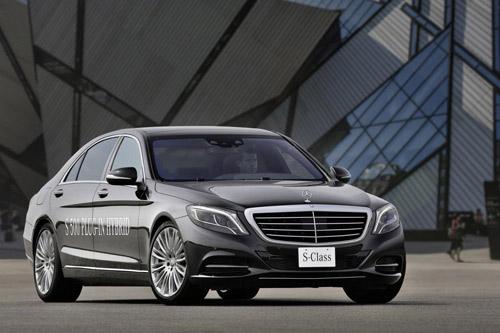 Mercedes-Benz khoe công nghệ F1 trên S500 Plug-In Hybrid - 1