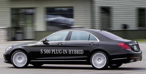 Mercedes-Benz khoe công nghệ F1 trên S500 Plug-In Hybrid - 2