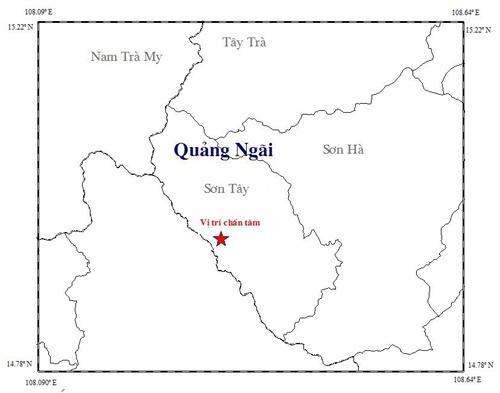 Lại xảy ra động đất ở Quảng Ngãi - 1