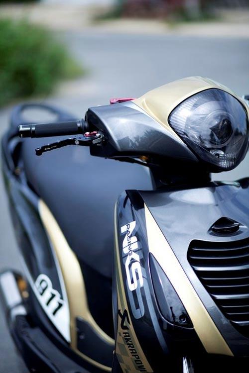 Honda PS độ phong cách siêu xe Gia Lai Team - 3