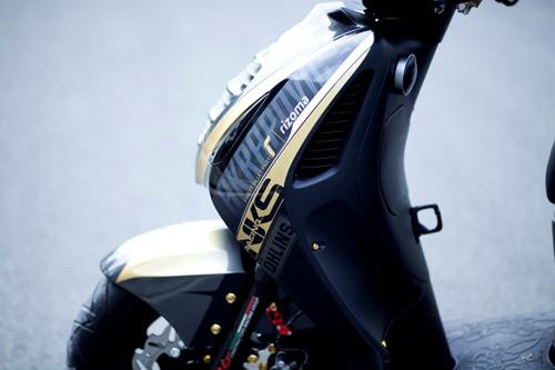 Honda PS độ phong cách siêu xe Gia Lai Team - 4