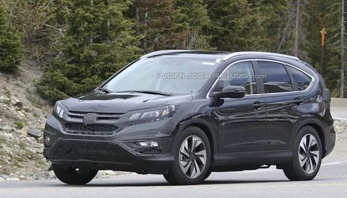 Honda CR-V 2015 sẽ trang bị hộp số CVT - 1