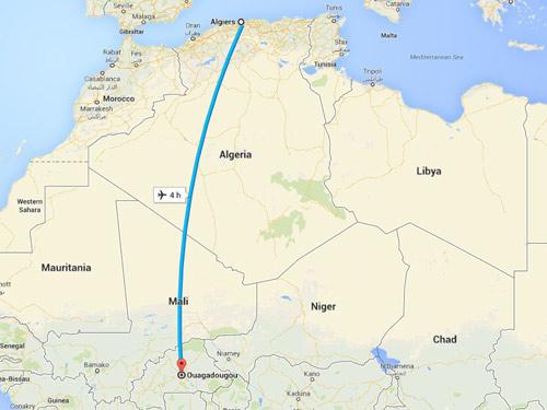 Máy bay chở 116 người của Algeria đột nhiên mất tích - 2