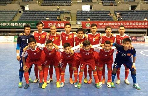 Tuyển futsal Việt Nam thua Trung Quốc 3-7 - 1