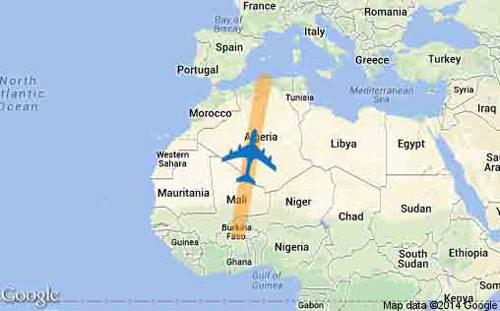 Máy bay chở 116 người của Algeria gặp nạn - 1