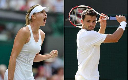 Dimitrov & Sharapova có thể đánh cặp tại US Open - 2