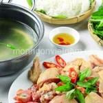 Ẩm thực - Lẩu gà vườn lá giang