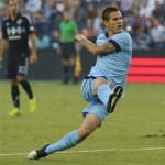 Bóng đá - Sporting KC - Man City: Tân binh lập công