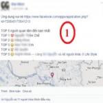 """Thời trang Hi-tech - Ứng dụng """"top 5 người quan tâm"""" đánh cắp tài khoản Facebook"""
