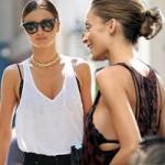 Thời trang - Mỹ nhân thế giới vô tư khoe áo nịt ngực