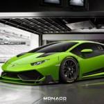 Ô tô - Xe máy - Lamborghini Huracan Super Trofeo màu xanh chuối lộ diện