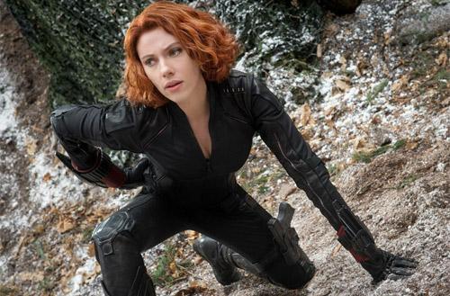 Scarlett Johansson đóng phim hành động khi mang bầu - 3