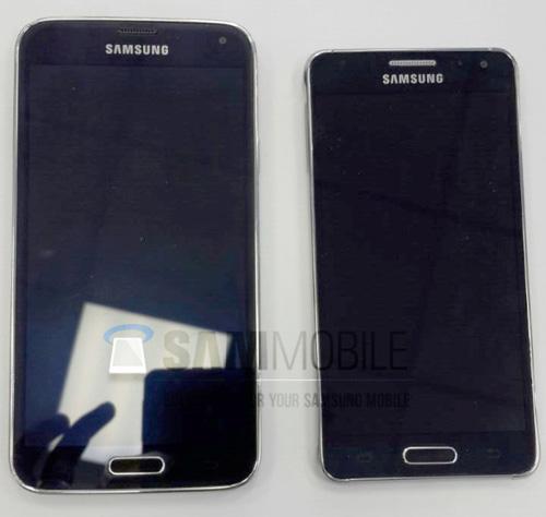 Lộ ảnh Galaxy Alpha khung kim loại, màn hình 4,7 inch - 4