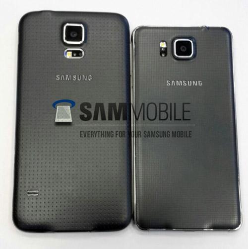 Lộ ảnh Galaxy Alpha khung kim loại, màn hình 4,7 inch - 5