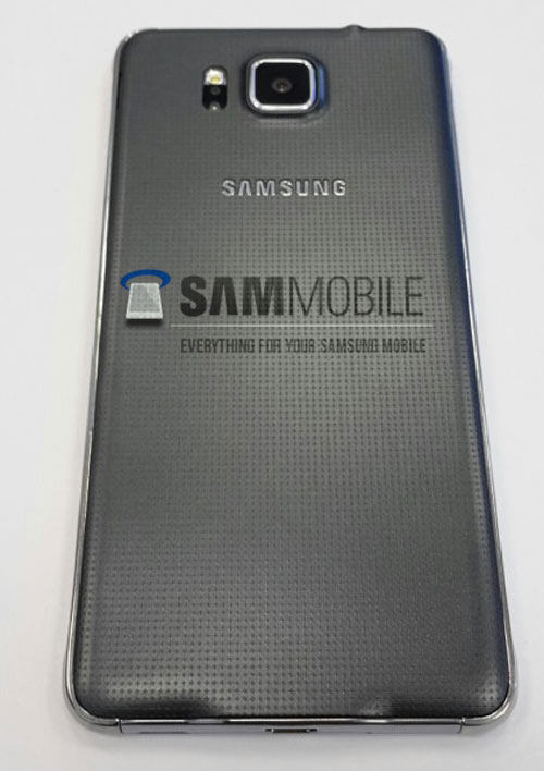 Lộ ảnh Galaxy Alpha khung kim loại, màn hình 4,7 inch - 6