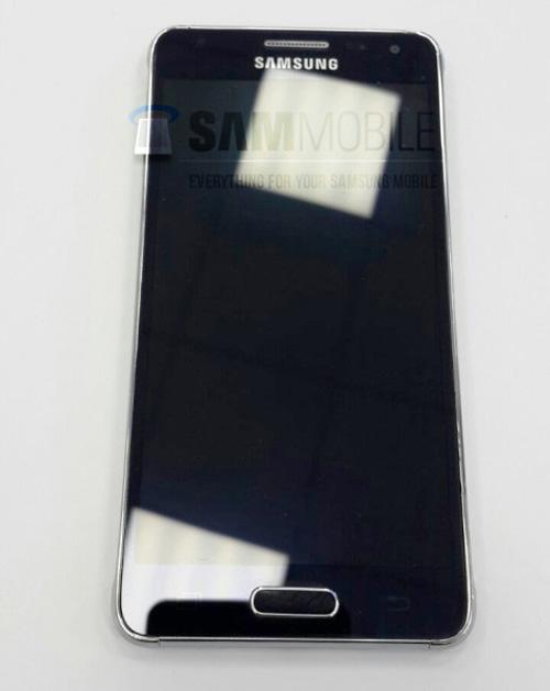 Lộ ảnh Galaxy Alpha khung kim loại, màn hình 4,7 inch - 7