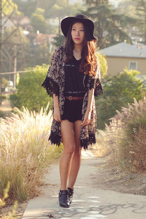 Để tín đồ Việt đẹp hơn với áo khoác kimono - 3