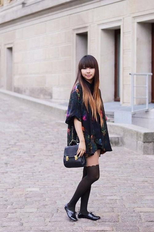 Để tín đồ Việt đẹp hơn với áo khoác kimono - 2