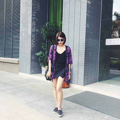 Để tín đồ Việt đẹp hơn với áo khoác kimono - 8