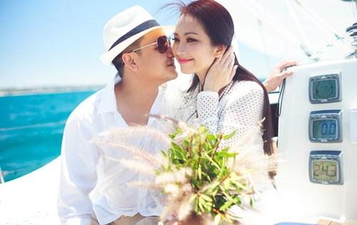 Kim Hiền say đắm hôn chồng sắp cưới trên sa mạc - 7