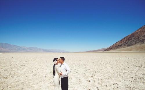 Kim Hiền say đắm hôn chồng sắp cưới trên sa mạc - 5