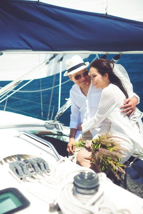 Kim Hiền say đắm hôn chồng sắp cưới trên sa mạc - 9